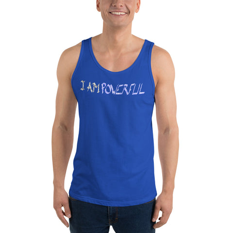 (NEW) I AM POWERFUL Unisex Tank Top