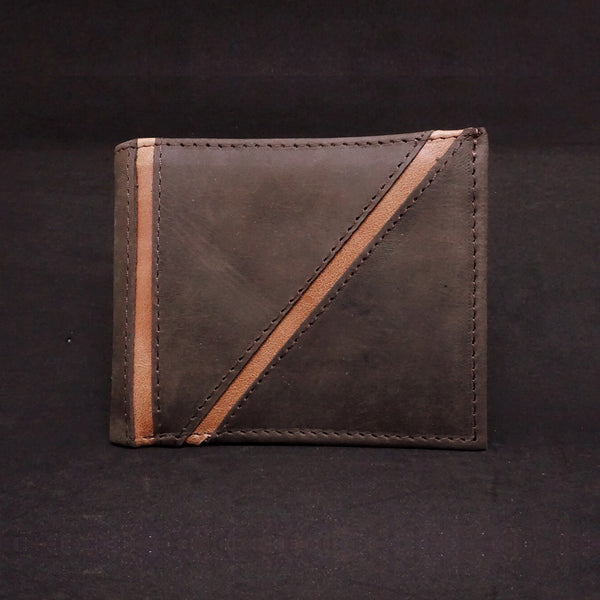 Bifold Wallet With ID Window - Premium Recycled Leather