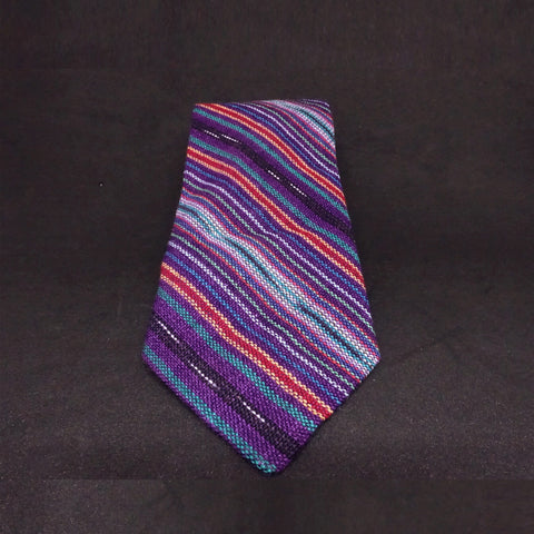 Hand Woven Skinny Tie | Premium Recycled Textiles