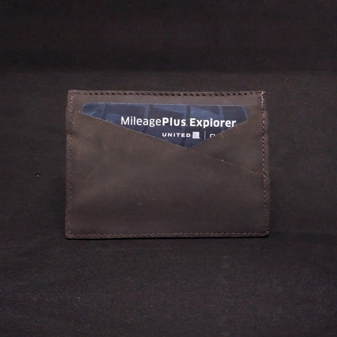 Men's Leather Wallet - Super Slim