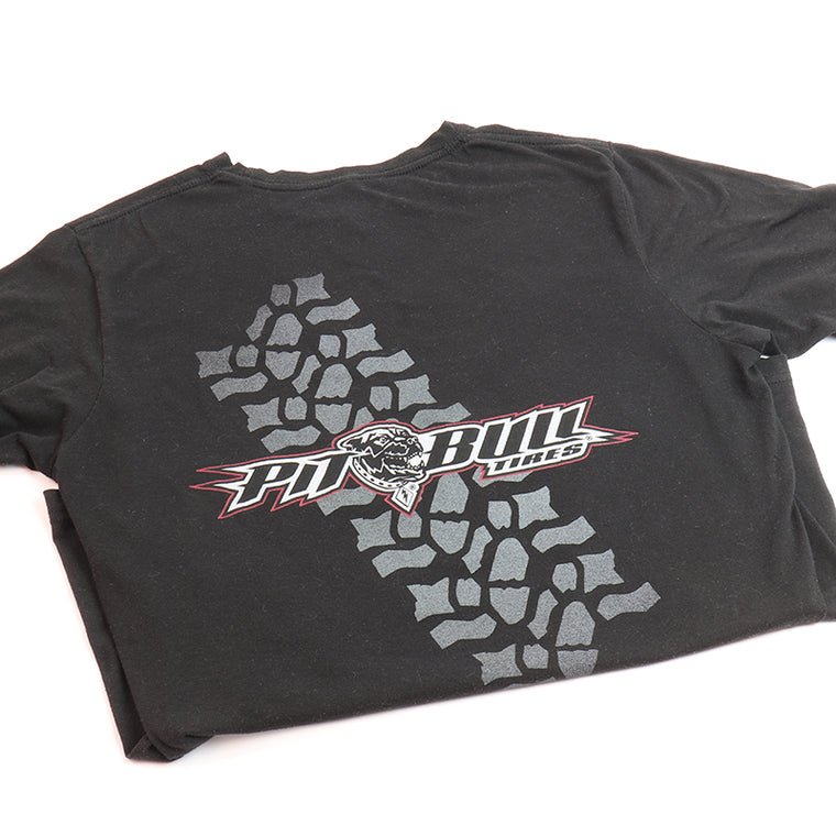 BLACK -Pit Bull Tire T-Shirt