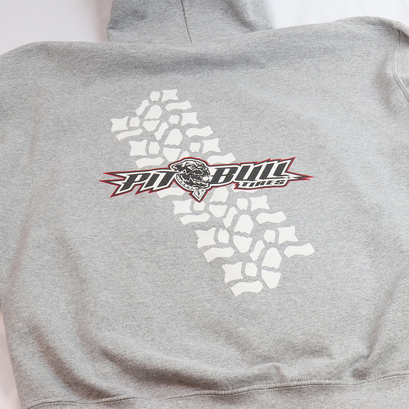 Pit Bull Tires Gray Sweat Shirt - Rocker Tread