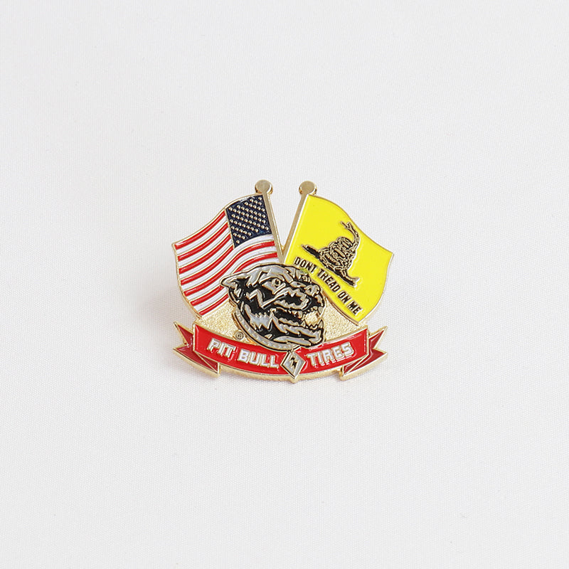 Pit Bull Tires Hat Pin