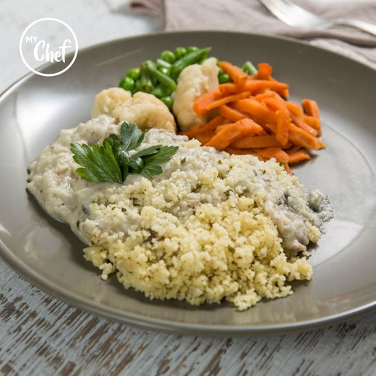 Creamy Chicken & Mushroom Casserole with Couscous 380g