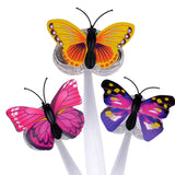 Multicolor Butterfly LED Hair Pin