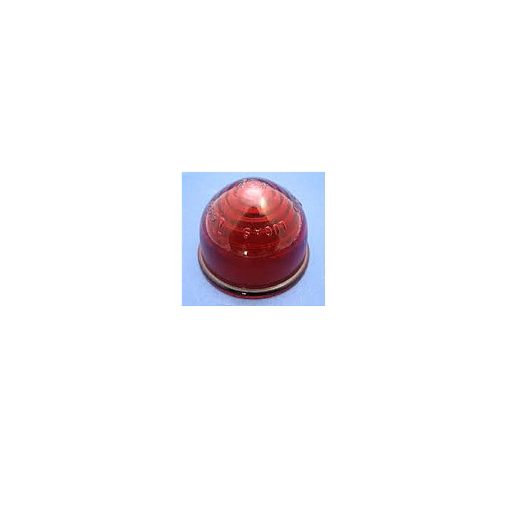 LENS, Red, glass, fits 182.594