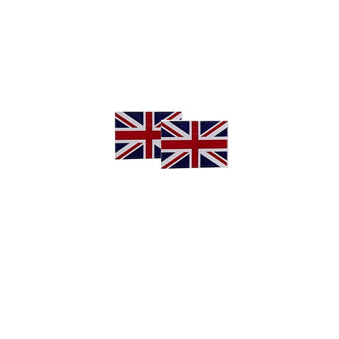 "BADGE, Union Jack, s/a, 2 x 1 3/16"", pr"