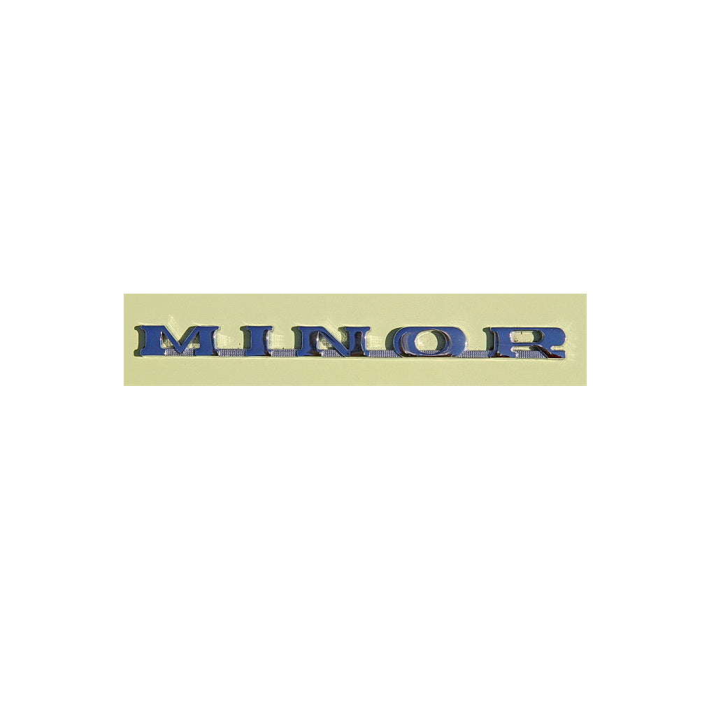 BADGE, MINOR, boot