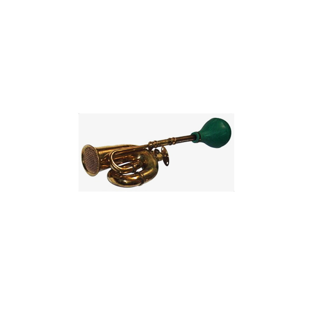 HORN, Rickshaw, brass double twist