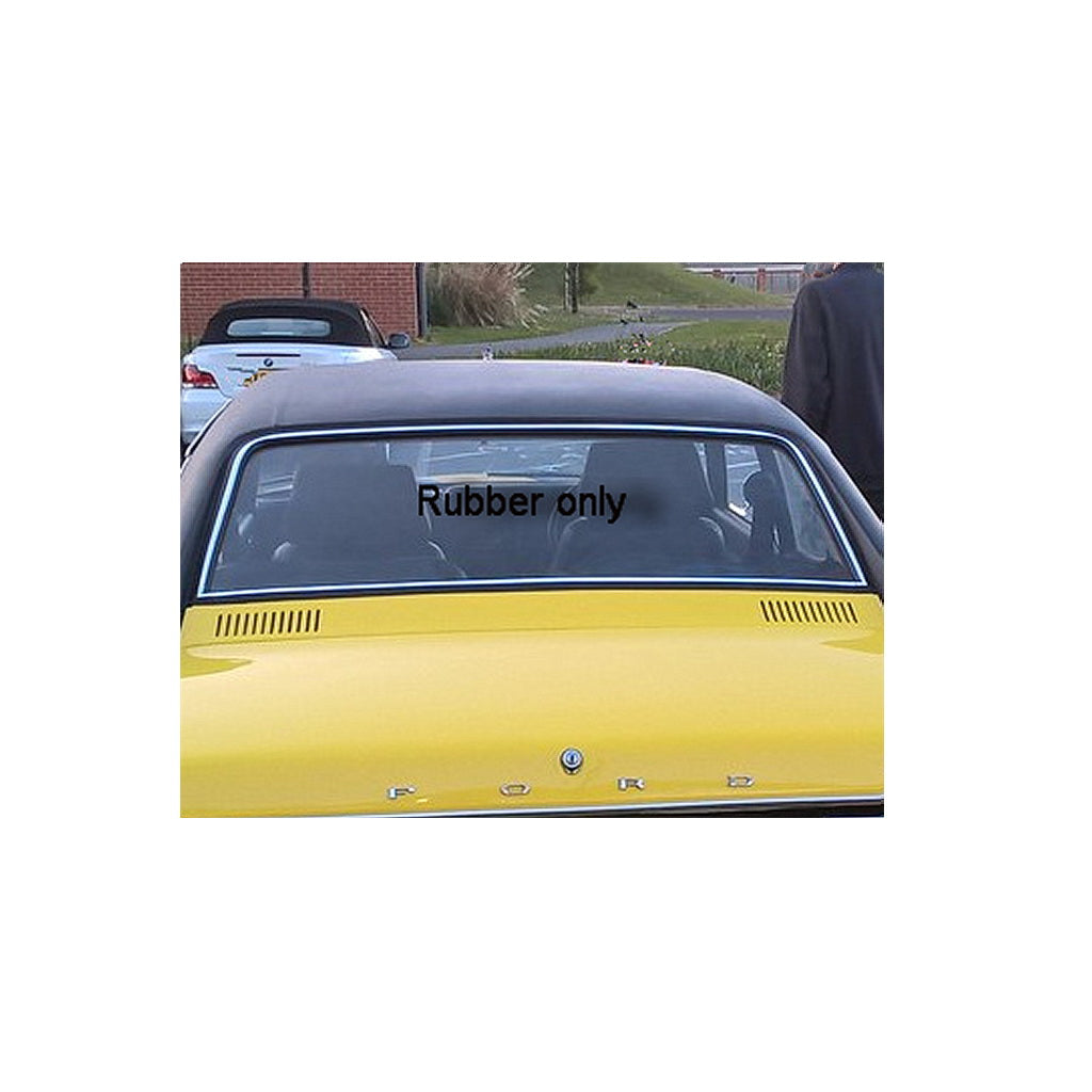 SEAL, Window, rear, Ford Capri Mk1
