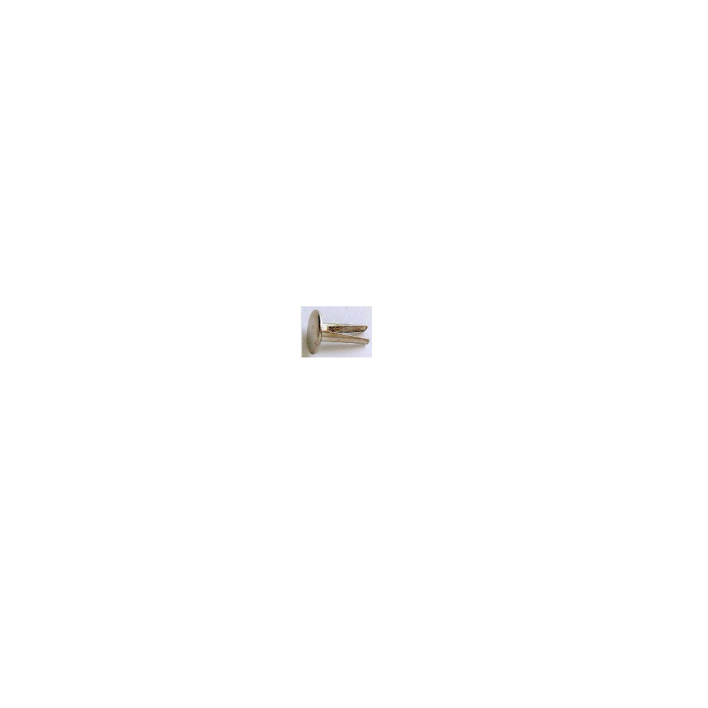 RIVET, Biff. 8 x 3.6 x 9mm, pkt40, nickel plated