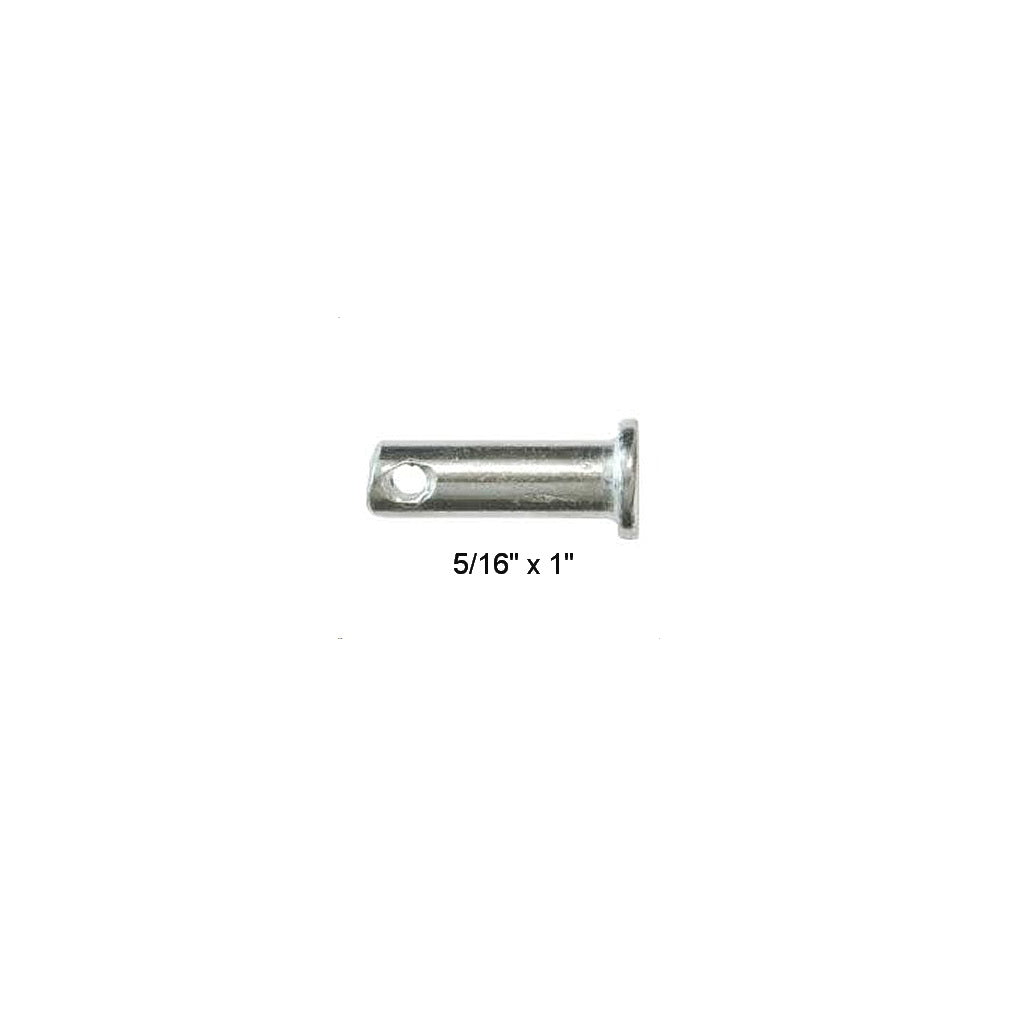"CLEVIS PIN, 5/16"" x 1"" O/all length"