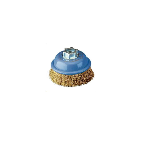 BRUSH, Wire cup, 14mm high speed crimped