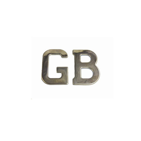 GB LETTERS, Chromed