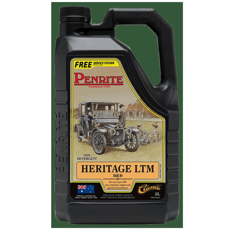 OIL, Penrite, Heritage Light, Mono SAE30, 5L
