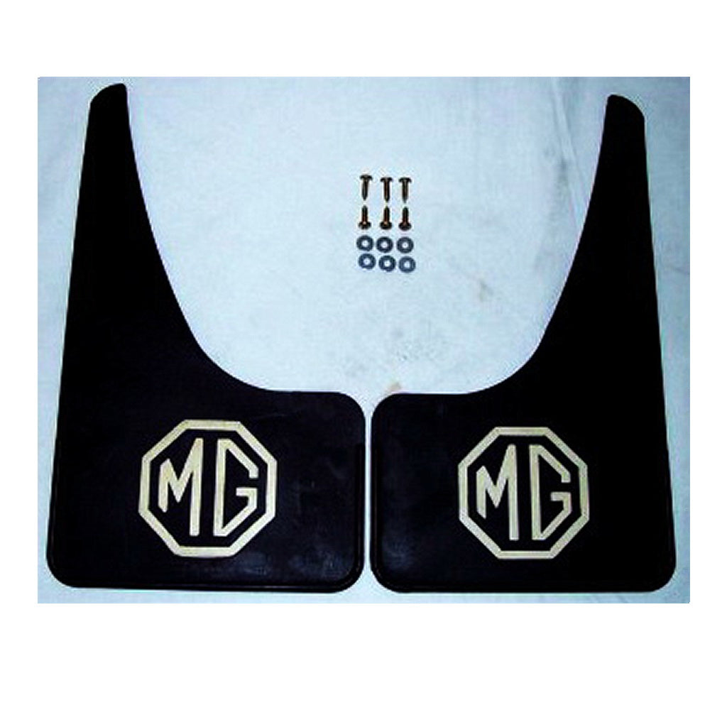 MUDFLAPS,  'MG' raised logo, pair