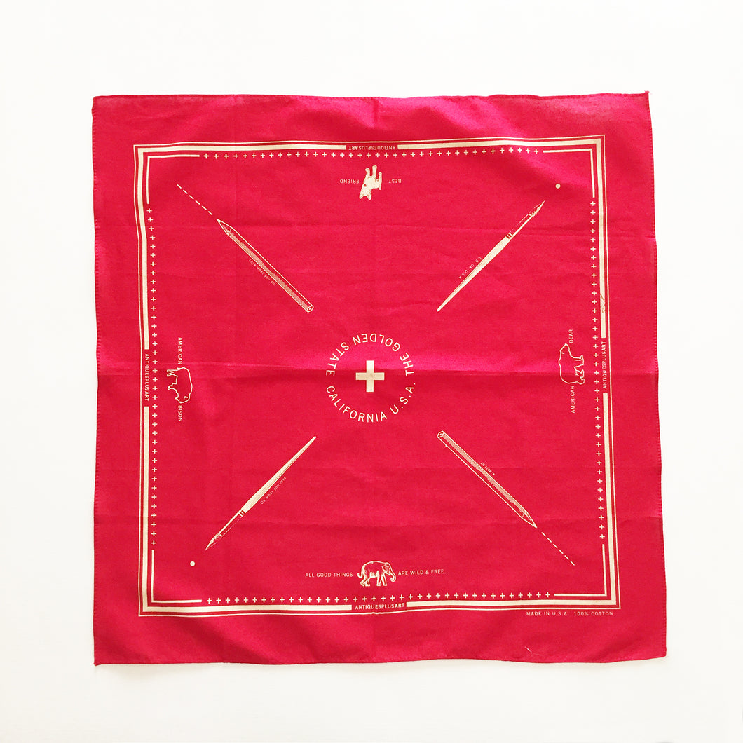 California Bandana (Red)