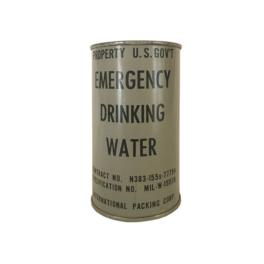 U.S. Government Emergency Drinking Water