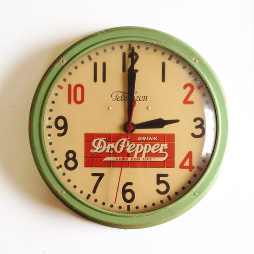 1940's Dr Pepper Clock