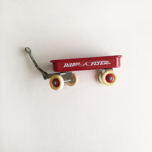 vintage Radio Flyer wagon salesman sample