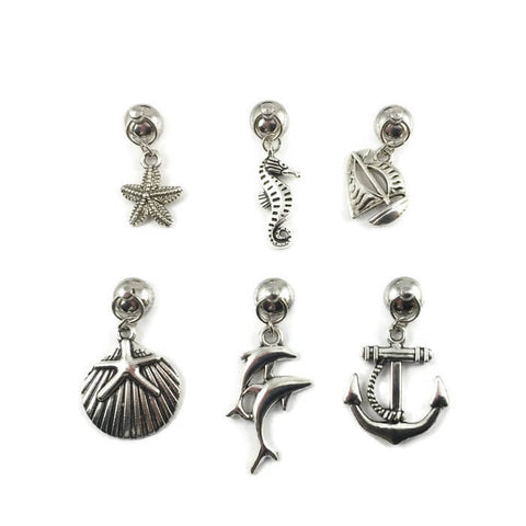 nautical magnetic wine charms