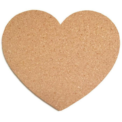 Heart Shaped Cork Board