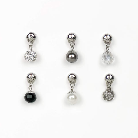 Metallic Wine Charms - Set of 6