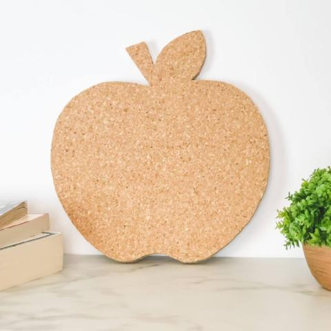 Apple Shaped Cork Board