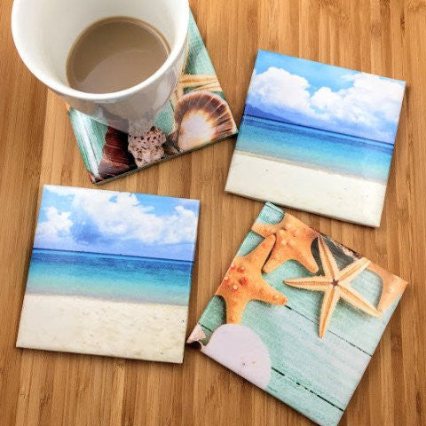 Beach Coasters - Set of 4