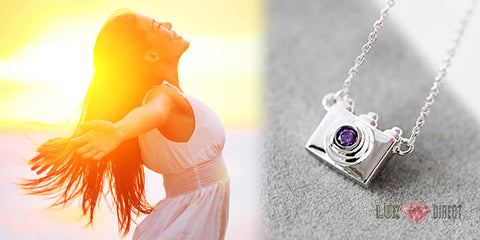 nadia silver jewelry pendant photography necklace montreal zheng gold floating