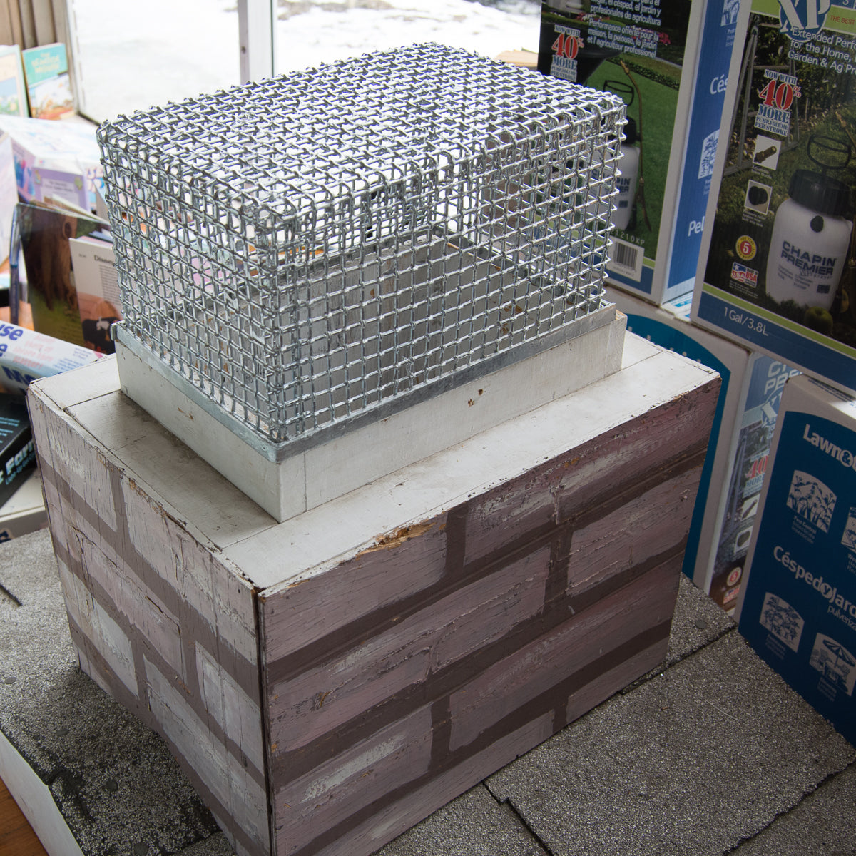 Chimney Screen in Store