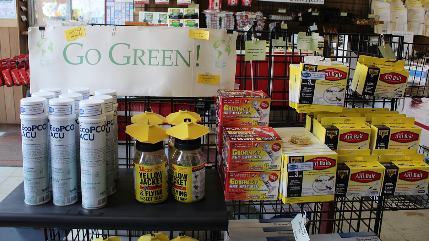 Speed Exterminating Co. Green Products