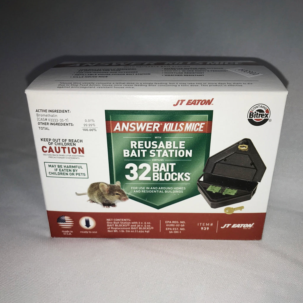 JT Eaton Locking Mouse Bait Station