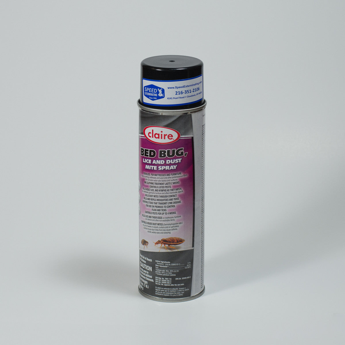 Claire Lice & Dust Mite Spray
