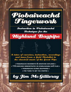 Piobaireachd Fingerwork - by Jim McGillivray *Stock on its way*