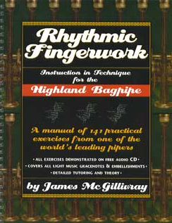 Rhythmic Fingerwork - by Jim McGillvray *In Stock*
