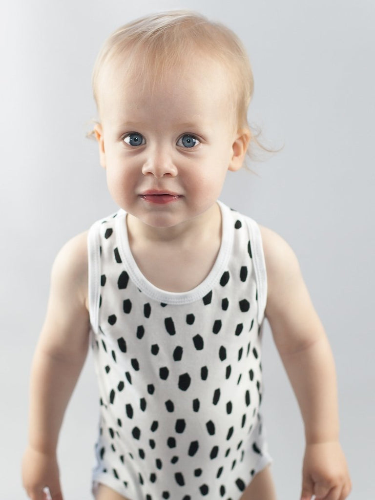 Black Dalmatian Singlet Bodysuit Kit & Cradle