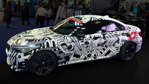 BMW M2 Custom Painted by Street Artist Greg Mike.