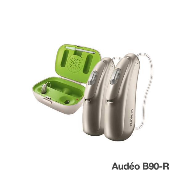 Phonak Audéo B90-R Pair w/ Charger Case - HEAREX
