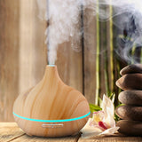 Essential Oil Diffuser - Wood - Zen Peek