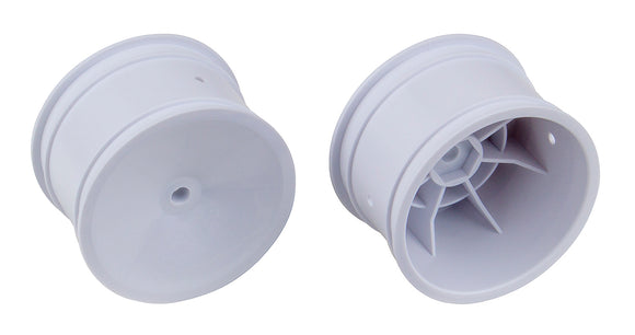 Team Associated 12mm Hex 2.2 Rear Hex Wheels (White)