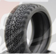 K Force Fine Radial 1/10 Onroad Tire (4)