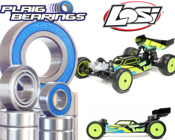 Plaig V2C Premium TLR 5.0 Elite Bearing Kit