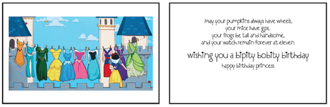 Greeting Card Happily Ever After (birthday)