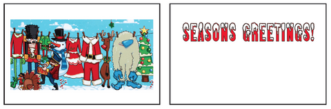 Greeting Card Season's Greetings (holiday)