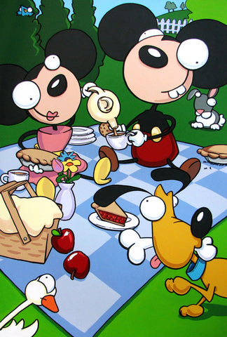 Mickey Minnie Picnic