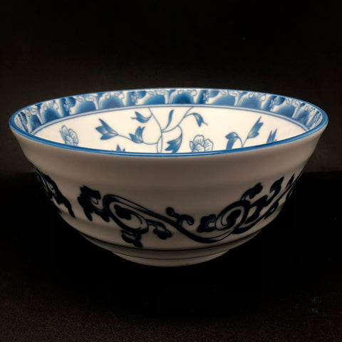 TBBLTA1726/27/28/30 -  Blue Flower design Bowl 4.5 - 8 Inches - New Eastland Pty Ltd - Asian food wholesalers