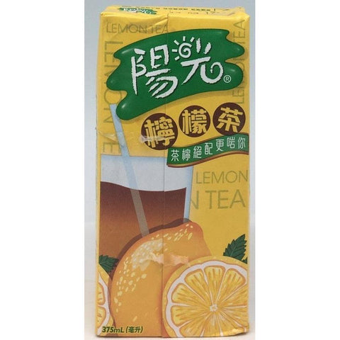 B001LL Sunshine Brand - Lemon Tea 375ml - 24box/1ctn - New Eastland Pty Ltd - Asian food wholesalers