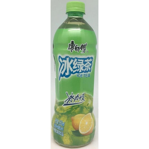 B004GS Kon Brand - Ice Green Tea 600ml -15bot /1ctn - New Eastland Pty Ltd - Asian food wholesalers