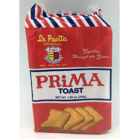 C005B La Pacitta Brand - Prima Toast 200g - 36 pkt /1ctn - New Eastland Pty Ltd - Asian food wholesalers